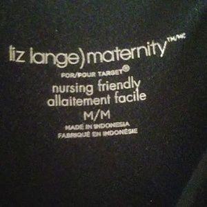 Liz Lange Dresses - Liz Lange Maternity Nursing Friendly Dress